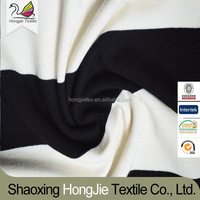 viscose+spandex yarn dyed knitted fabric