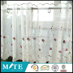 african good price and high quality curtain design white sheer and voile curtain