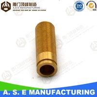 Brass plumbing parts with OEM service china cnc lathe machine
