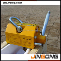 Portable lifting magnets/magnet lifter for steel plate