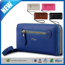 C&T Wrist strap hot sell for apple iphone 6 plus purse leather case