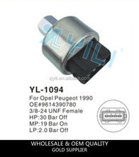 YL-1094 pressure switch for passange car PEUGEOT OE#9616390780 high and low pressure