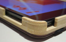 wood case for ipad mini ,7inch wood tablet case