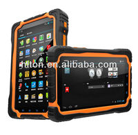 China cheapest factory 7inch tough police android tablet pc with MTK6589 Quad-core
