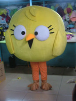 custom mascot head/bird mascot head
