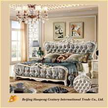 8809 high quality elegant America provincial bed
