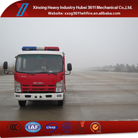 High Quality Unique Design Emergency Rescue 3500L Water And Foam Small Fire Truck