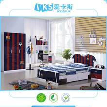 2015 sport children bedroom furniture set for boys 8350-1