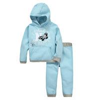 New product of 2015 hot sale Jumping beans children's clothing wholesale color wathet blue children hoodies coat suit