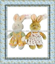 Easter Day Plush Rabbit with Dress