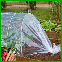 clear 200 micron greenhouse film plastic cover