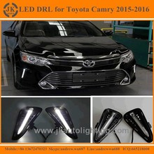 Super Quality Car Specific LED Daytime Running Lights for Toyota Camry Light Guide Style Toyota Camry LED DRL 2015 2016