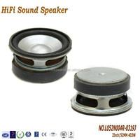 2Inch 52mm 4ohm 3W High quality Multimedia Speaker,Aluminum cone full range speaker