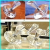 Exquisite 3ml crystal diamond perfume bottle for the women