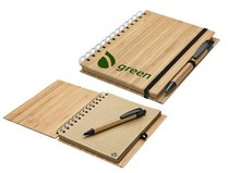 New Promotion Eco Wooden Notebook and Pen ECO Wood Notebook and Pen ECO Wooden Notebook Set