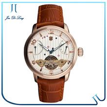 High Quality Best Luxury Watches Men 2014 Tourbillon Skeleton Brand Men Wrist Watch
