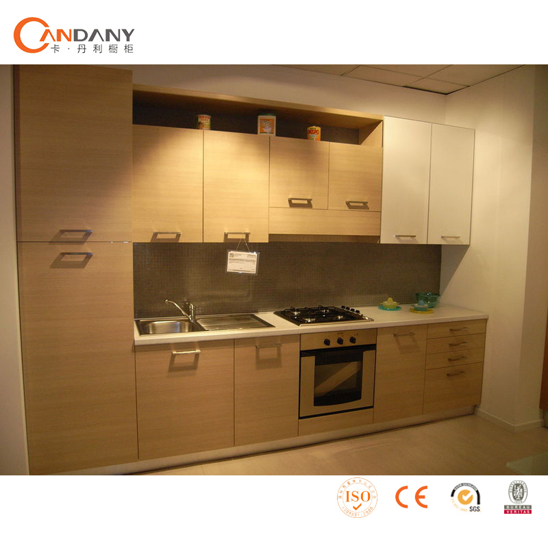 Affordable modern kitchen cabinets melamine board for Cheap modern kitchen designs