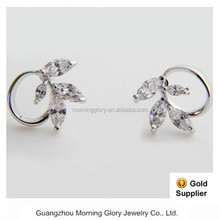 description of gold jewelry hanging earring design