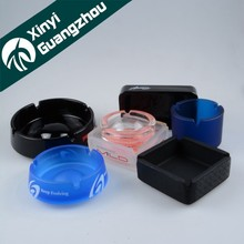 Customizable glass ashtray / color ash ashtray / suqare ashtray from Guangzhou