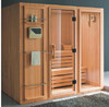 Canadian red cedar, hemlock, abachi wood sauna bath shower sauna room