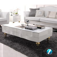 New coming great design high gloss lacquer coffee table