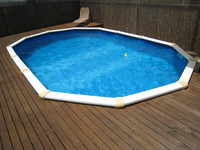 2015 best selling mobile swimming pool, square above ground pool, swimming pool roof