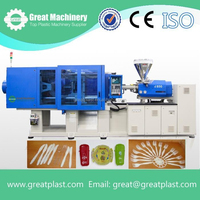 injection molding machine for making plastic blows/plates/cups/spoons