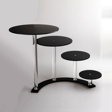 top grade acrylic carriage cake stand