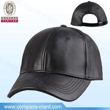 wholesale plain man leather caps