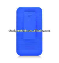 rubberized clip case for Huawei Mercury M886 rubberized holster case