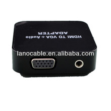 Laptop hdmi to av converter box with audio input,av in hdmi out adapter