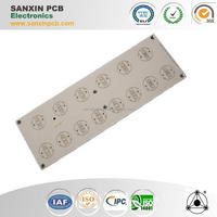 With certificate approved top quality aluminum pcb board for microcontroller