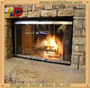 High Quality Customized Ceramic Fire Resistant Glass, Glass Fireplace Door, Fireplace Doors Glass