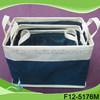 handcraft willow garden basket,waterproof square paper basket