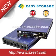 H.264 Full D1 4ch Mobile DVR Vehicle Security System for School Bus, Taxi, Police Car