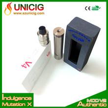2014 new mechanical mod 18650 mech mod/mutation x mod 18650 battery