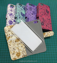 Detachable 2in1 Leather wallet Case for iphone 6 plus, for iPhone 6 plus magic case