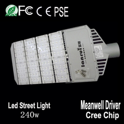 Meanwell Driver 240w High quality LED Street Light Cool white Project Lighting