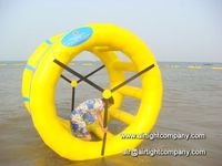 Airtight Inflatable Water Wheel Ball,Aqua Toy Ball Game