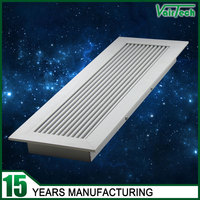 anodized aluminum floor air conditioning grilles vents