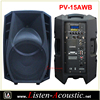 PV-15AWB Portable Outdoor Sound System for Stage Performance
