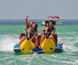 wholesale top quality inflatable flying fish banana boat