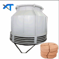 15T FRP Low Noise Open Round Water Cooling Tower Price