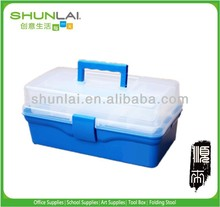 plastic drawer tool storage box with handle and the buckle