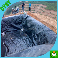 High quality HDPE plastic liner in ponds/koi pond/water pool