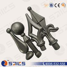 gate hardware wrought iron spear
