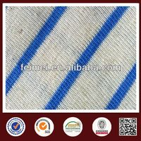 2014 new style blue white stripe knit fabric from China gold knit fabric supplier