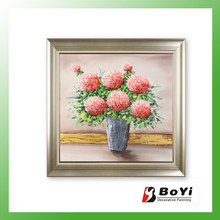 Flowers in Vase Modern Painting by Number Sets