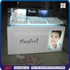 TSD-W130 Custom cosmetic shop furniture/cosmetic counter acrylic display/cosmetic products display