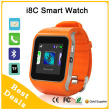 POLOBANDS For Android iOS Bluetooth GSM TF Card Pedometer Smart Watch i8C